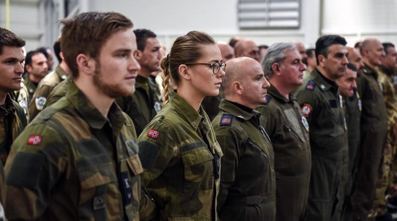 Nato Übung Manöver Polarkreis