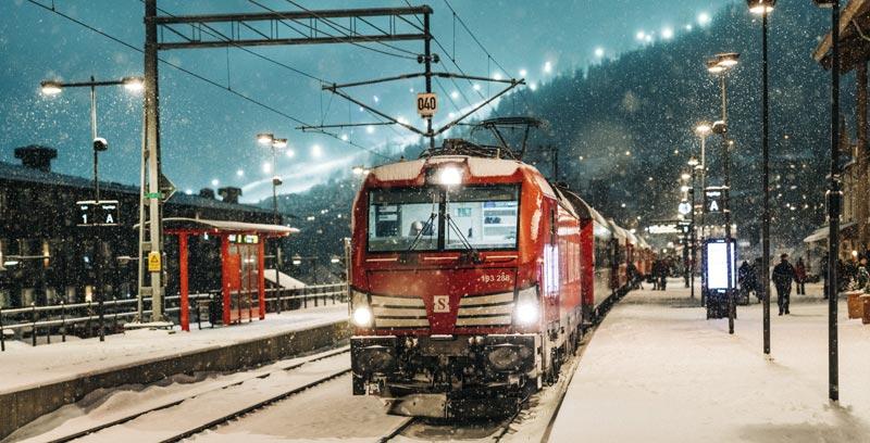 Deutschland Schweden mit dem Zug