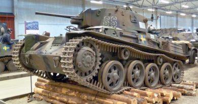 Schwedischer Panzer