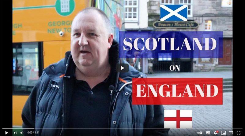 Was denekn Schotten von England?