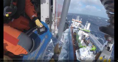 Rettungsaktion Seenot Norwegen