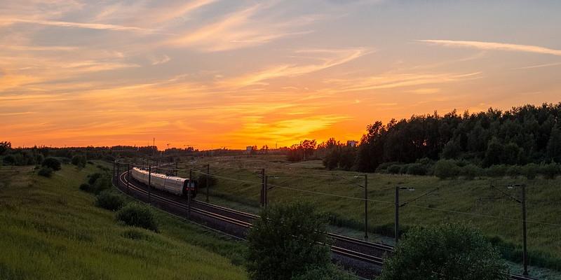Nachtzug Dänemark