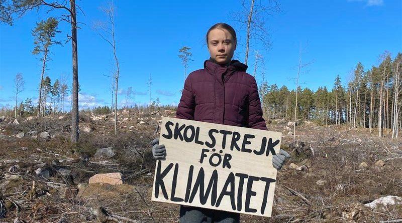 Greta Thunberg Lofven
