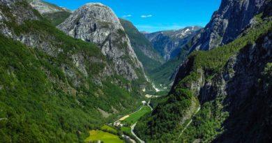 Stalheimskleiva Nærøydalen