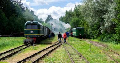 Estland: Das Schmalspurbahn-Museum in Lavassaare bei Pärnu