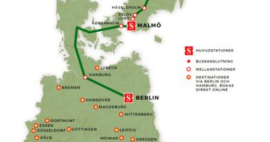 Nachtzug Schweden Deutschland