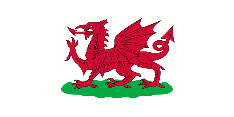 Fahne Wales Flagge