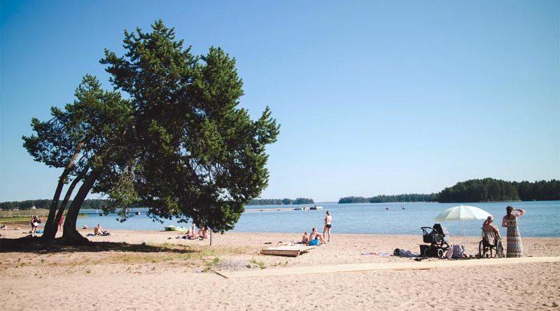 Guter Strand Schweden Ostsee