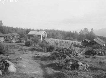 Waldfinnen Dorf Juhoila