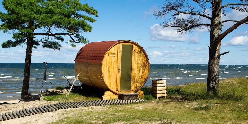 lettland sauna