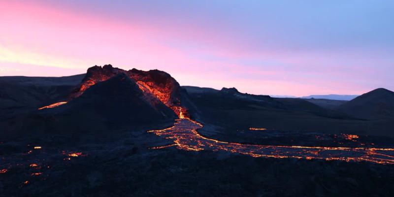 vulkan island fagradalsfjall