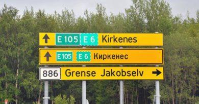 Wanderin kassiert Geldstrafe, nachdem sie mit einer Hand Norwegens Grenze zu Russland überquert hatte