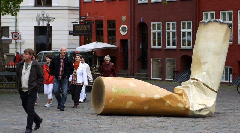 Zigarette Müll Kopenhagen