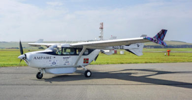 elektroflugzeug orkney