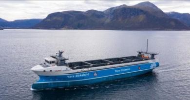 emissionsfreies schiff