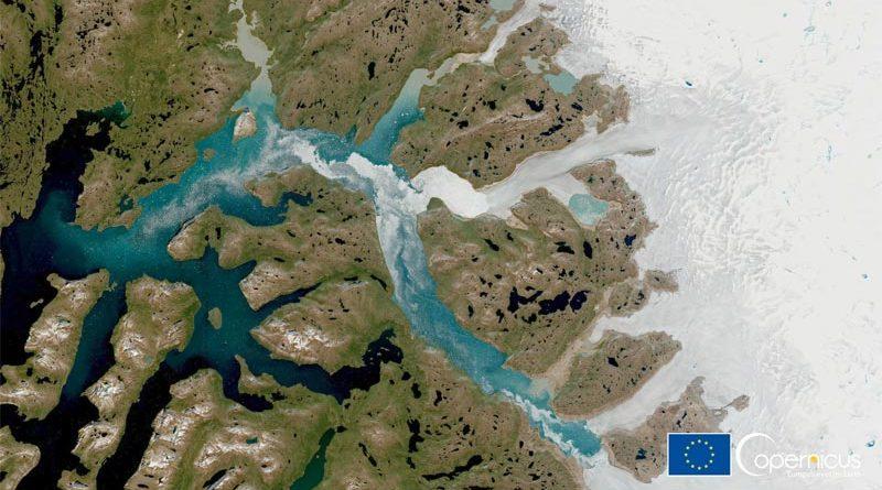 Eisschild Grönland Klimawandel