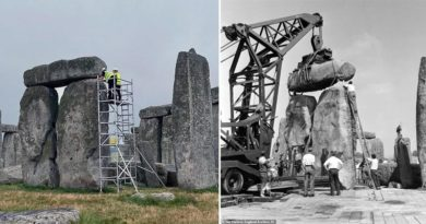 Stonehenge Renovierung