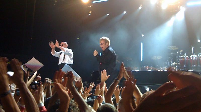 Elton John Konzert Stockholm Schweden