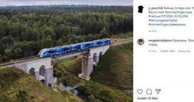 Connecting Europe Express Baltikum