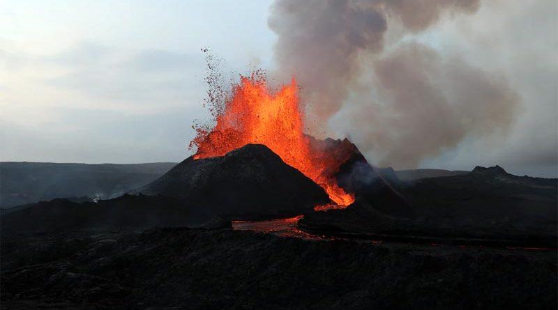 Fagradalsfjall Island Vulkan