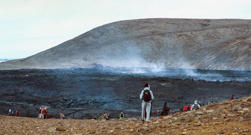 Fagradalsfjall Vulkan Island