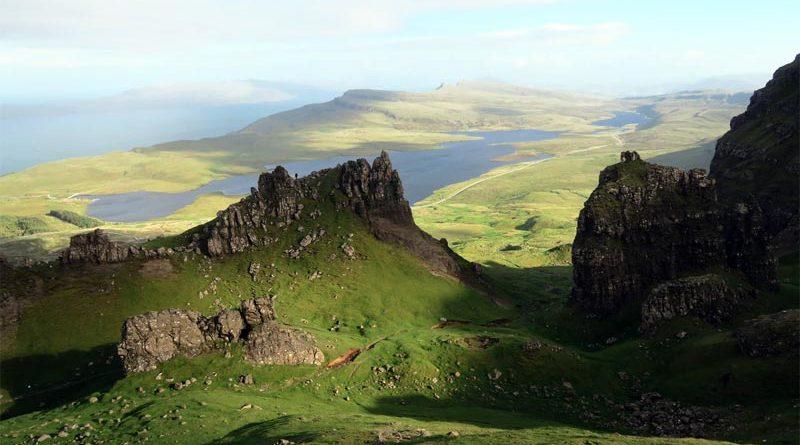 Geographie Quiz Schottland