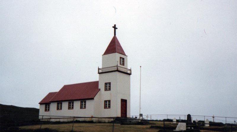 Island: Alte Holzkirche auf Grímsey komplett abgebrannt