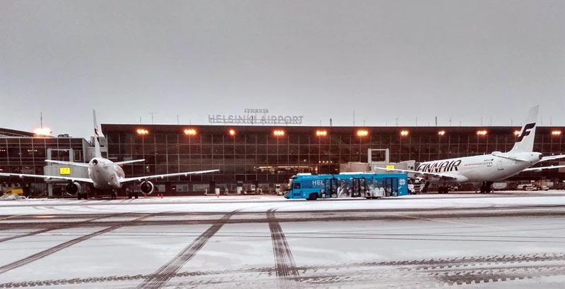 Finnland: 2021 große Flaute bei Flugpassagieren – Zahlen weit unter Vor-Corona-Niveau