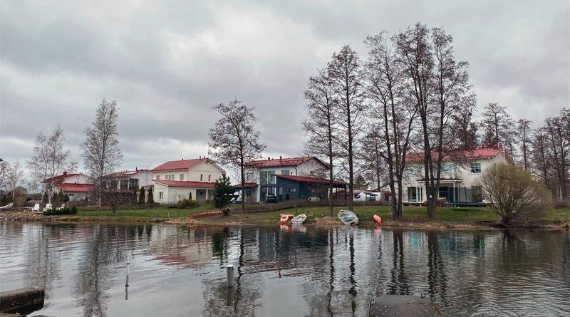 Klimawandel Finnland Überschwemmung