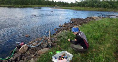 Lappland Mikroplastik