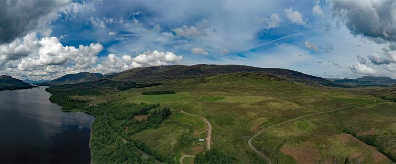 Loch Laggan Highlands Drehort