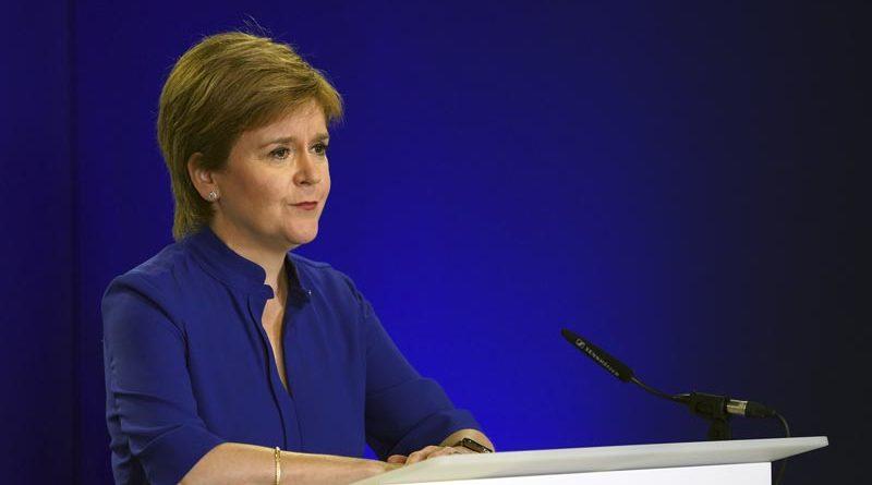 Sturgeon Schottland Unabhängigkeit