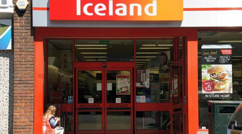 Supermarkt Lieferkette UK