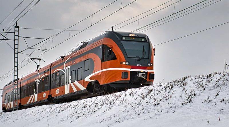 Zugverbindung Tartu Riga