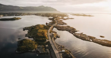 """Die wunderbare Atlantikstraße: Norwegens """"Bauwerk des Jahrhunderts"""""""