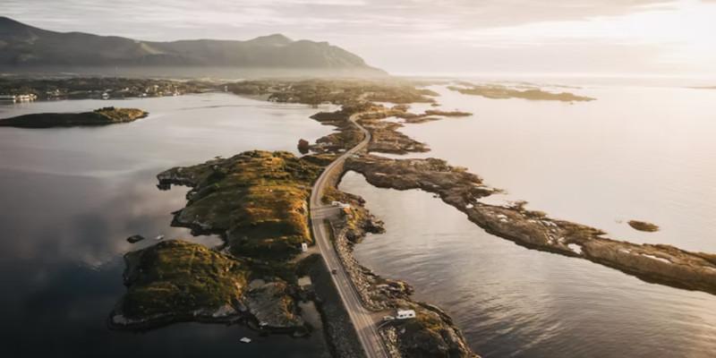 Norwegen Atlantikstraße