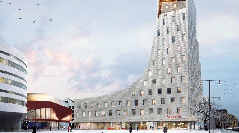 Scandic Hotel in Kiruna wird zum neuen Wahrzeichen der Stadt