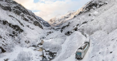 Die Flåmbahn in Norwegen: Spektakel pur über 20 Kilometer und 900 Höhenmeter