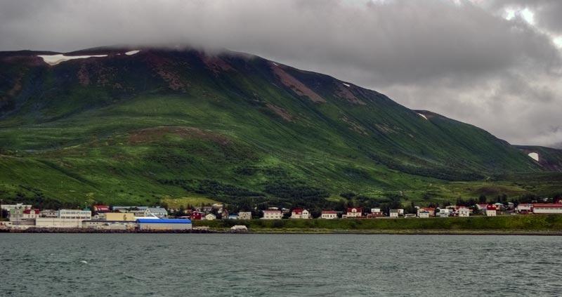 Husavik Erdrutsch Island