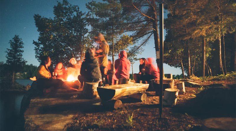 Lagerfeuer Norwegen